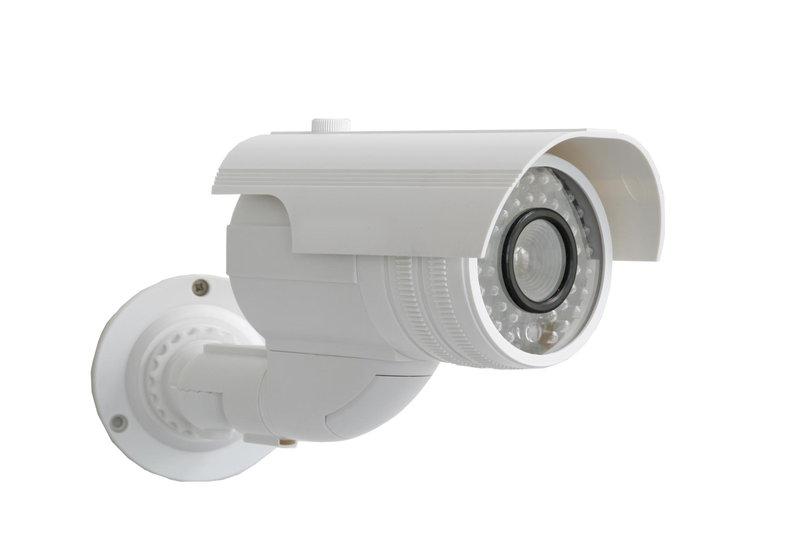 Dummy surveillance cameras